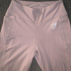 Gymshark dreamy leggings in taupe